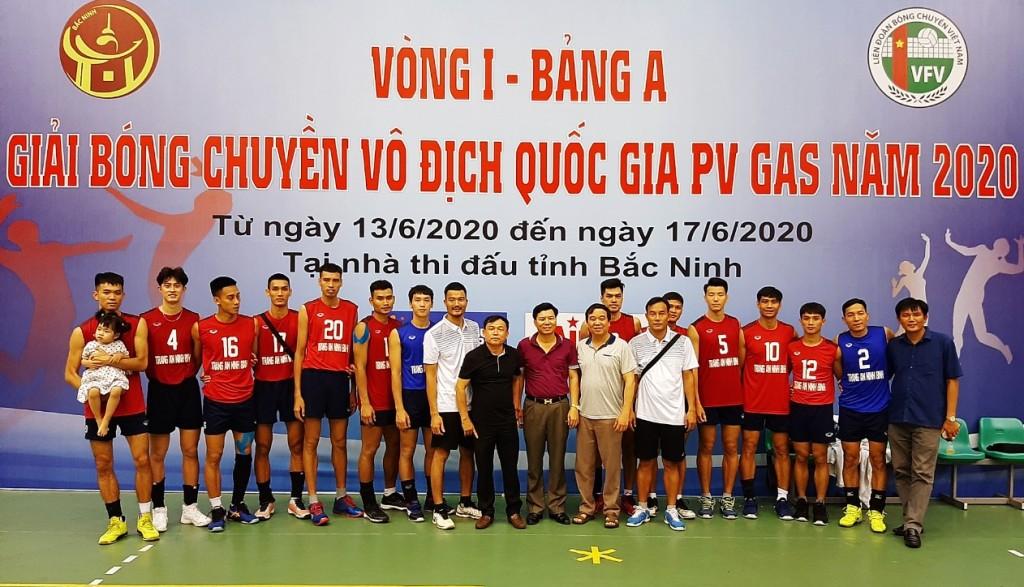 2019 PV gas National Volleyball Championship, Trang An Ninh Binh ranks top group B
