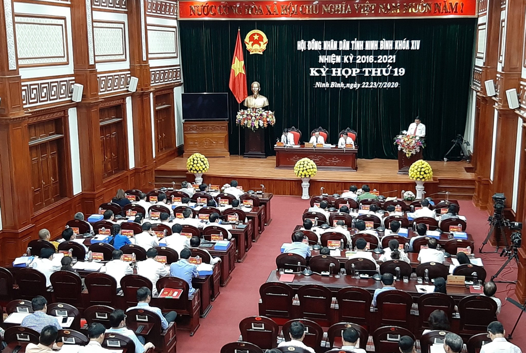Ninh Binh People's Council starts its 19th session