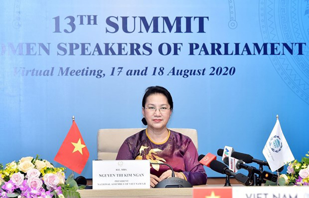 NA Chairwoman Nguyen Thi Kim Ngan attends 13th summit of world's NA female heads