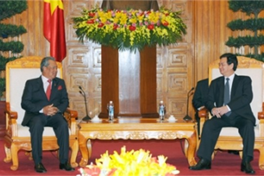 Vietnam Prime Minister Dung calls for enhanced co operation with Malaysia