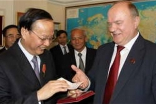 Vietnam Russia Communist parties enhance relations