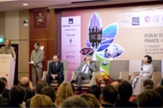 VN France Business Forum kicked off in HCMC