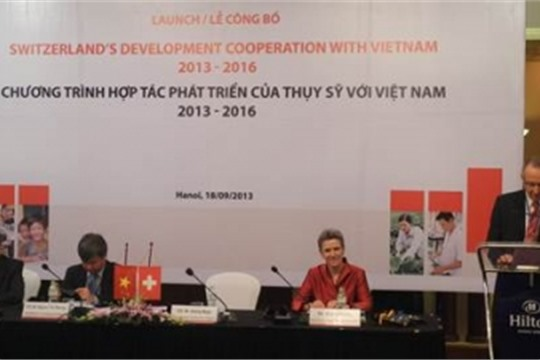 Switzerland launches new development co operation with Vietnam