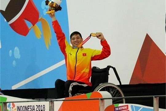 Vietnam bags seven medals on fourth day of 2018 Asian Para Games