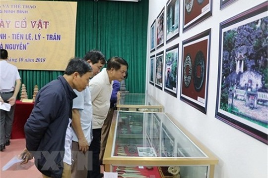 Artifacts of Dong Son Culture feudal dynasties on display in Ninh Binh