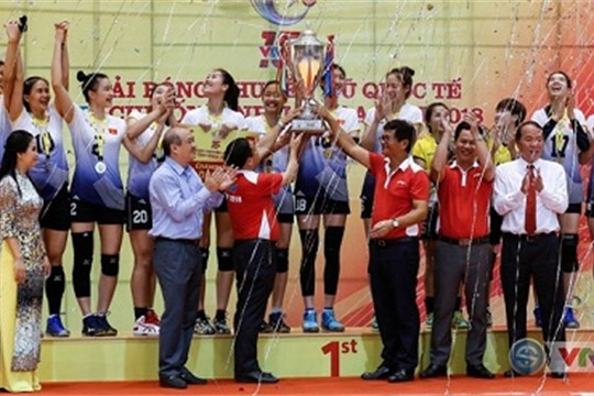 Vietnam crowned VTV Volleyball Cup 2018