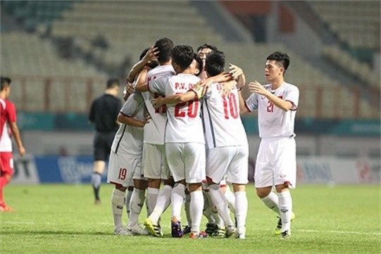 Asiad Vietnam U23s storm into Round of 16 after second win