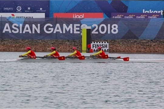 ASIAD 2018 Rowers win first gold medal for Vietnam