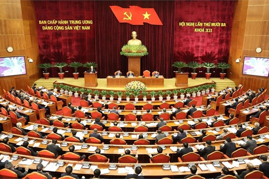 Party Central Committee convenes 13th session