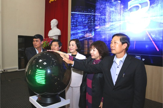 Ninh Binh city s smart urban management center put into pilot operation