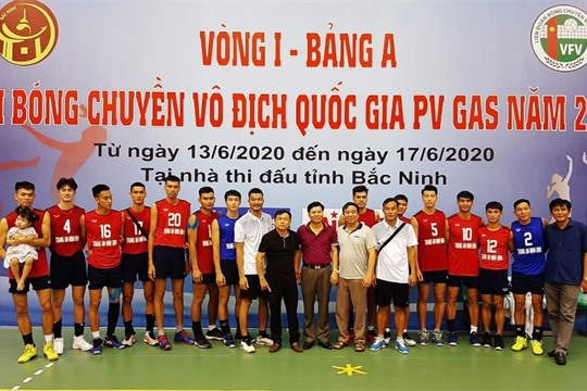 2019 PV gas National Volleyball Championship Trang An Ninh Binh ranks top group B