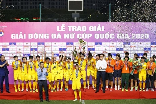 HCM City beat Vinacomin to win Women s National Football Cup