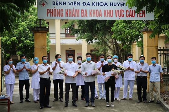 Ninh Binh Three more COVID 19 patients recover