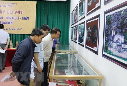 Artifacts of Dong Son Culture, feudal dynasties on display in Ninh Binh
