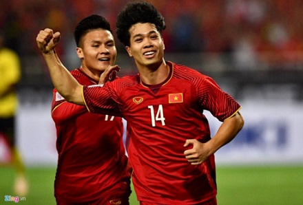Cong Phuong tops most impressive performers list in AFF Cup 2018