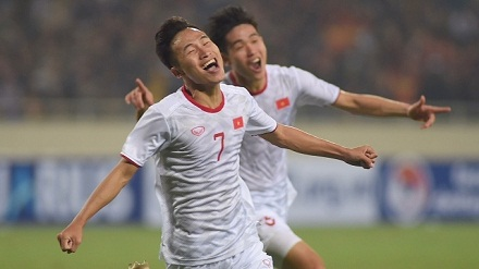 Viet Hung's stoppage-time header hands Vietnam win against Indonesia