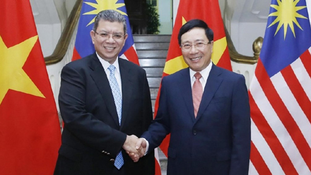 Vietnam, Malaysia target US$15 billion in trade by 2020