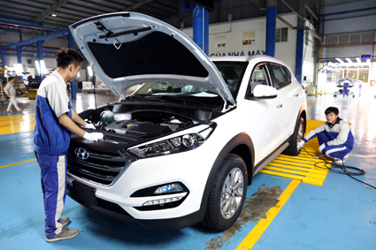 Ninh Binh heeds automobile industry development