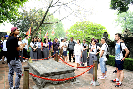 Ninh Binh: Revenues from tourism in August hike