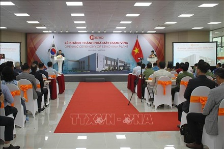 South Korean automotive components factory inaugurated in Ninh Binh