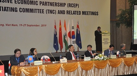 28th meeting of trade negotiating committee for RCEP opens in Da Nang