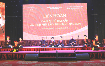 Xam singing festival 2019 opens in Ninh Binh