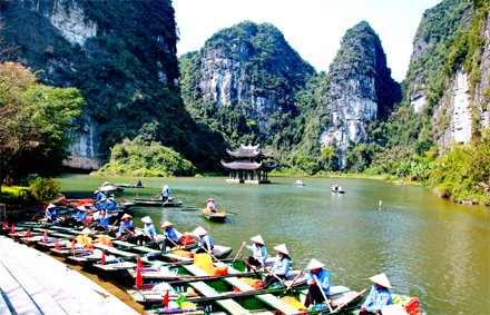 Ninh Binh strives to welcome 7.78 million tourists in 2020