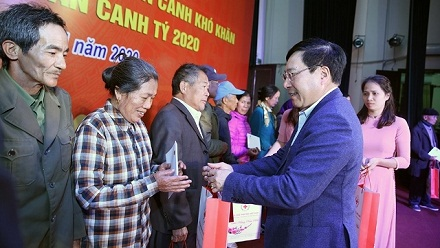 Thousands of Tet gifts presented to policy beneficiaries nationwide