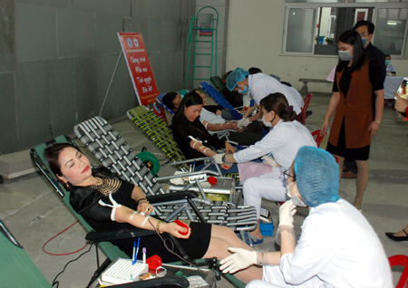 Ninh Binh launches blood donation drive to support COVID-19 combat
