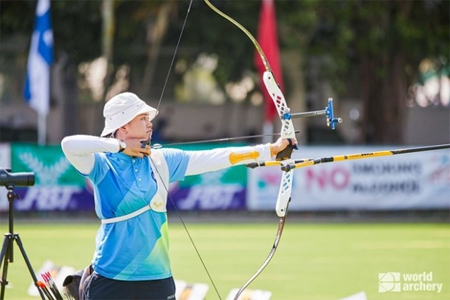 Vietnamese archers bring home three golds from Bangkok 2020 Asia Cup