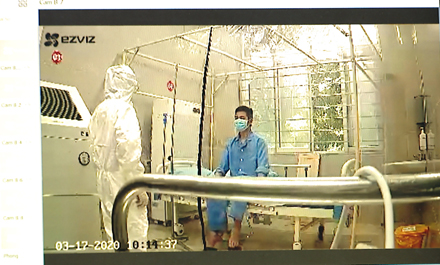 COVID-19 patient in Ninh Binh province successfully cured
