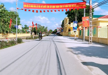 Ninh Binh strives to have 6 new-style rural communes by 2020