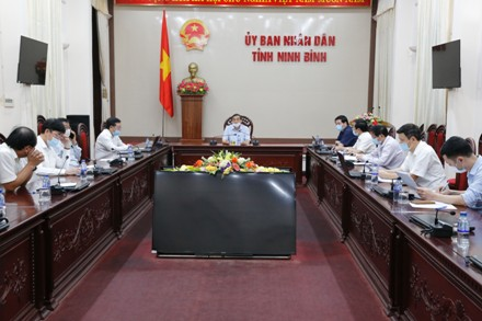 Ninh Binh continues countermeasures against COVID-19