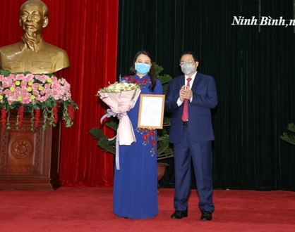 Ninh Binh has new Secretary of Provincial Party Committee