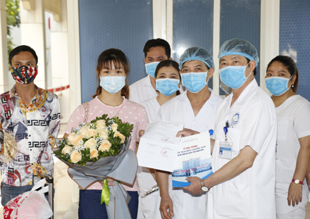 Ninh Binh General Hospital discharges last COVID-19 patient