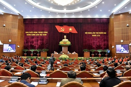 Central Party Committee wraps up 12th plenum